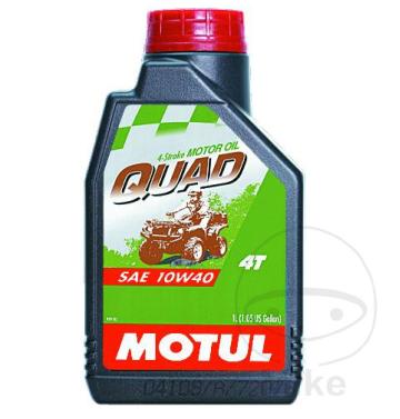 MOTUL двигателно масло ATV/UTV QUAD 10W40 4T 1L минерално