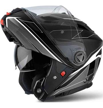 Модуларна каска Airoh Phantom S + вградени тъмни очила