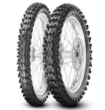 Задна гума PIRELLI 110/90-19 MID SOFT SCORPION MX32 NHS 62M