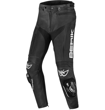 Кожен мото панталон Berik Misle черно