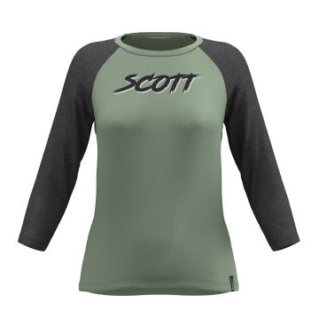 Дамска блуза SCOTT 10 CASUAL SLUB