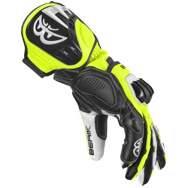 Кожени мото ръкавици Berik Track Plus